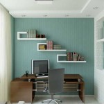 Office Elegant Home Ideas For Men Small Room Blue White