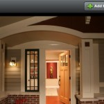 Offset Front Door House Plans