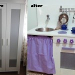 Old Ikea Closet Turned Into Play Kitchen Diy