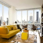 One Room Decorating Ideas Yellow Seat
