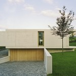 One Storey Inclined Modern House Overlooking The Alps Lovely