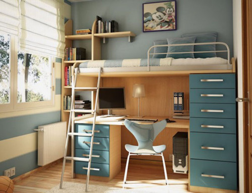 One Total Pics Modern Blue Color Scheme For Boys Bedroom