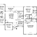 Open Concept Floor Plan Hwbdo Traditional House From