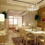 Open Concept Serene Dining Room Design For Home And Advice