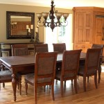 Open Dining Room Wooden Listed Decor