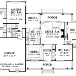 Open Floor Plan Hwbdo Country House From