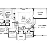 Open Floor Plan Hwbdo French Country House From