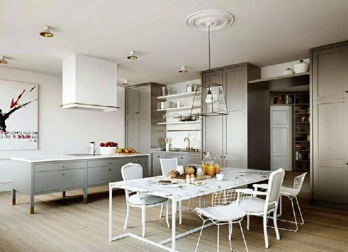 Open Plan Dining Room Interior Designs For Your Home