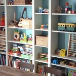 Our Ikea Billy Playroom Storage Solution For