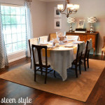 Our New Dining Room Rug The Steen Style