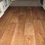 Out The Old Carpet And Put Faux Wood Vinyl Floor Love Look