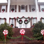 Outdoor Christmas Decorating Holiday