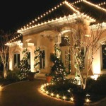 Outdoor Christmas Decorations Lights Trees