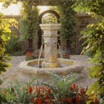 Outdoor Fountain Garden Studio Landscape Architecture