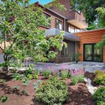 Outdoor Home Mulch Landscaping Adding Life Your Outside House