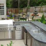Outdoor Kitchen Countertops And The Best Materials Options