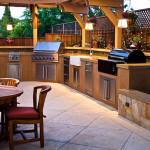 Outdoor Kitchen Ideas Simple Design And The Elaborate Kind