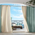Outdoor Patio Curtain Ideas Common Design