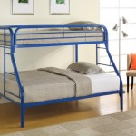 Over Full Bunk Bed Blue Colors Collection Twin
