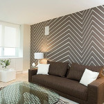 Painting Chevron Walls New Interior Design Trend