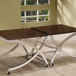 Pair Punching Coffee Table Furniture Stores Chicago