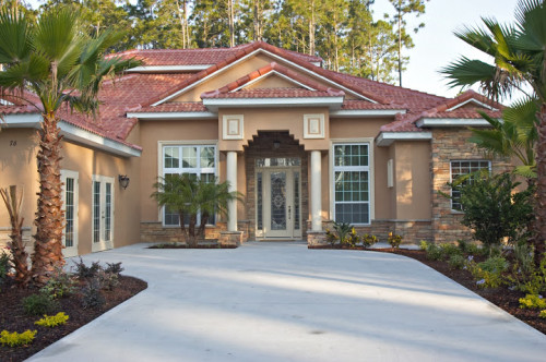 Palm Coast Virtual Green Home Model Image Florida Brokers