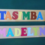 Personalized Letters Wooden Name Puzzle Personlizedpuzzled
