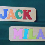 Personalized Letters Wooden Name Puzzles Personlizedpuzzled