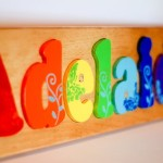Personalized Wooden Name Puzzle Room Ideas