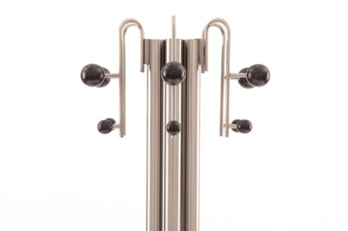 Phenomenal Italian Coat Rack Red Modern Furniture