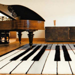 Piano Rug The Most Creative Carpet Designs For Playful Interiors
