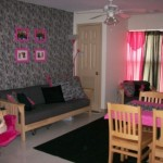 Pink And Zebra Print Apartment Style Dorm This