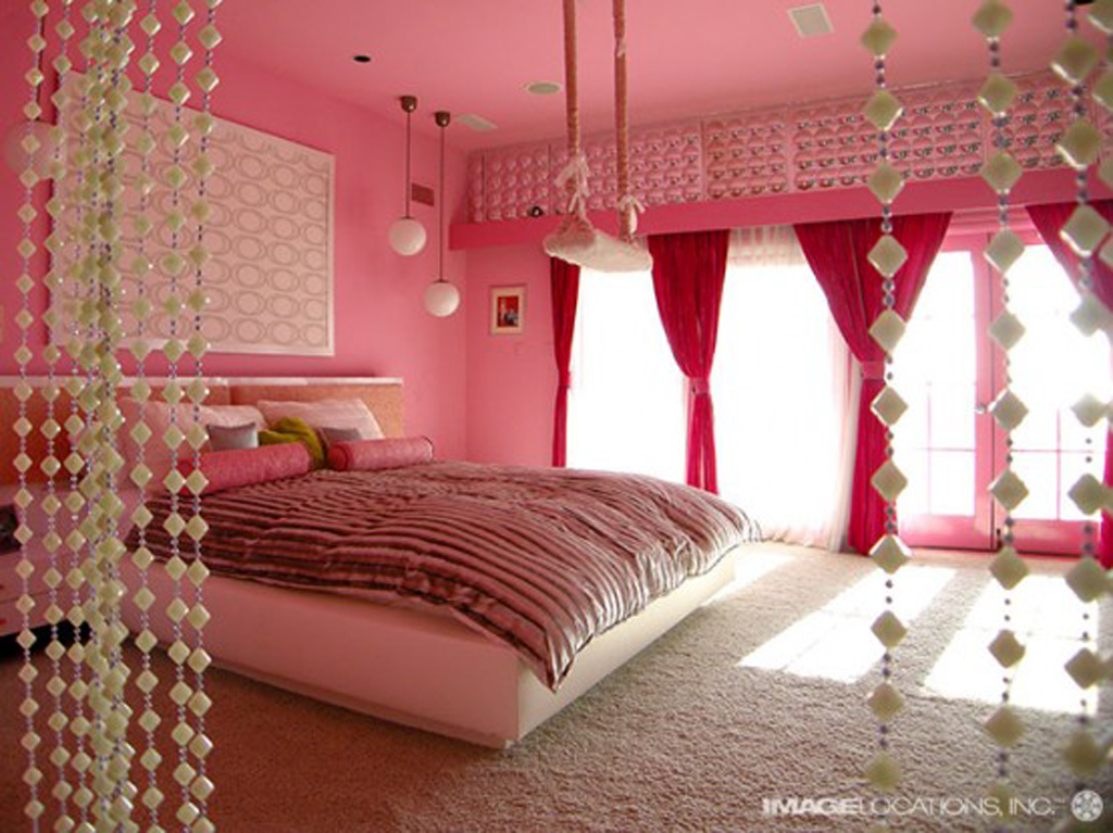 Pink Bedroom Decorations Ideas Listed Furniture