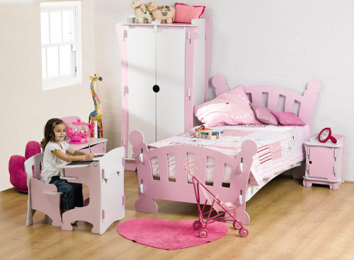 Pink Bedroom For