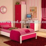 Pink Color Ikea Style Bedroom Set View Sets Cheap