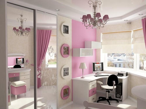 Pink Girls Bedroom Gallery Article Cool Ideas For