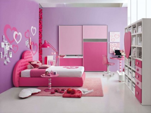 Pink Room Decorating Ideas Design