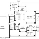 Plan Striking Design Open Floor
