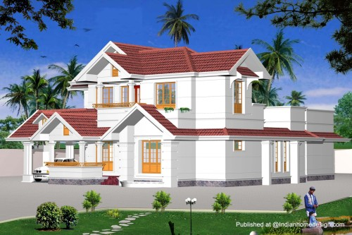 Plans Exterior Views Home Design Inspiration Indian Model House
