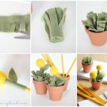 Plant Pot Pencil Holder And Toppers Relief Society Meetings