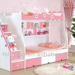 Popular Very Cheap Space Saving Pull Out Bed Girls Bedroom