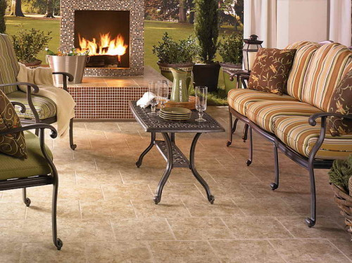 Porcelain Tile Flooring Designs