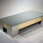 Post Modern Mirrored Coffee Table Italian Loveday Antiques