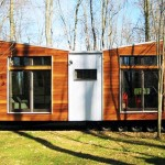 Prefab Friday Home Butterfly Roof Solar Passive