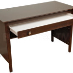Prepac Contemporary Wood Laptop Desk Espresso Office Desks Ewd