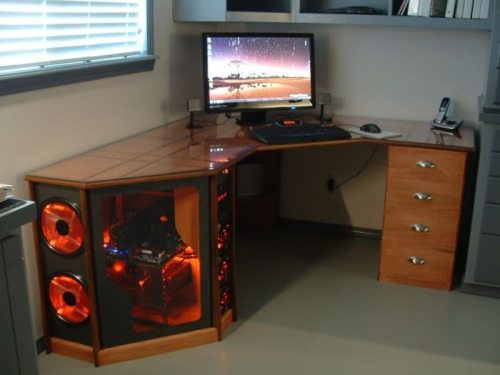 Pretty Damn Cool Computer Desk Case Posted