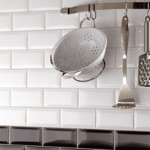 Product Description These Gloss White Bevelled Edge Subway Wall Tiles