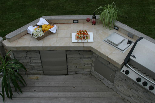 Products Outdoor Kitchen Countertops And The Best Materials Options
