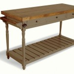 Provence Painted Pine Kitchen Island Drawers
