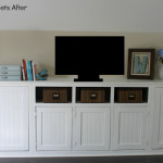 Pure Bond Cabinets Master Sitting Room Part Finally Done